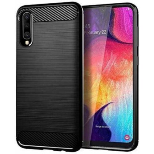 Samsung Galaxy A30s Back Cover Case Soft Hybrid Black Color 1