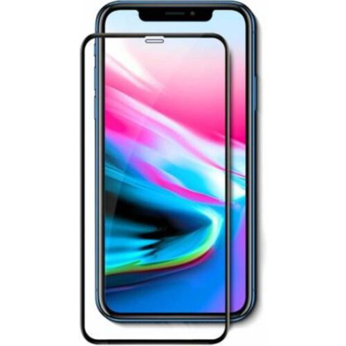 Tigerify Tempered Glass Screen Protector Full Glue 6D/11D Black For iPhone 11 1