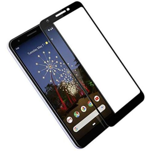 Tigerify Tempered Glass Screen Protector Full Glue 6D/11D Black For Google Pixel 3A 1