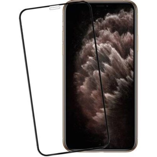 Tigerify Tempered Glass Screen Protector Full Glue 6D/11D Black For iPhone 11 Pro Max 1