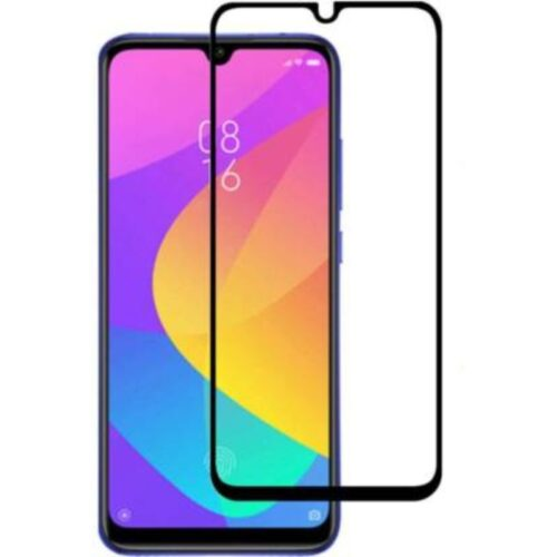 Tigerify Tempered Glass Screen Protector Full Glue 6D/11D Black For Mi A3 1