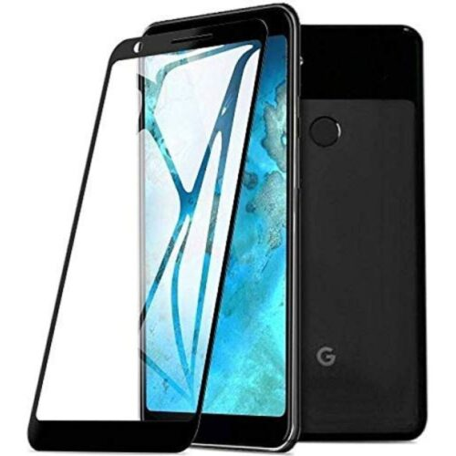 Tigerify Tempered Glass Screen Protector Full Glue 6D/11D Black For Google Pixel 3a XL 1