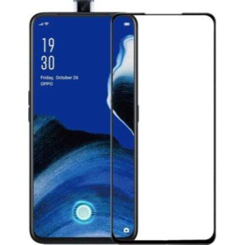 Tigerify Tempered Glass Screen Protector Full Glue 6D/11D Black For Oppo Reno 2Z 1