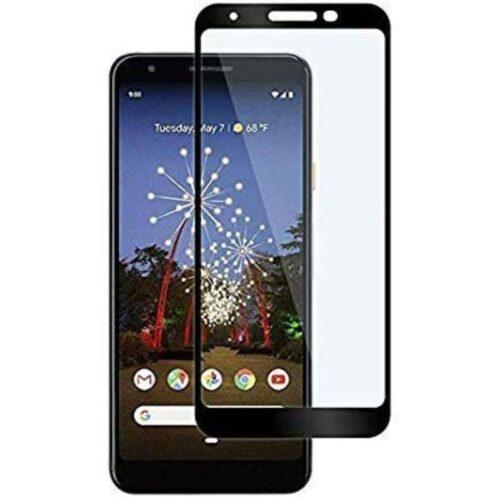 Tigerify Tempered Glass Screen Protector Full Glue 6D/11D Black For Google Pixel 3a XL 1