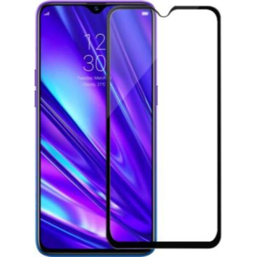 Realme 5 Pro Tempered Glass Screen Protector 6D/11D Full Glue Black 1