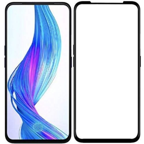 Tigerify Tempered Glass Screen Protector Full Glue 6D/11D Black For Realme X 1