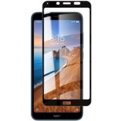 Tigerify Tempered Glass Screen Protector Full Glue 6D/11D Black For Xiaomi Redmi 7A 1