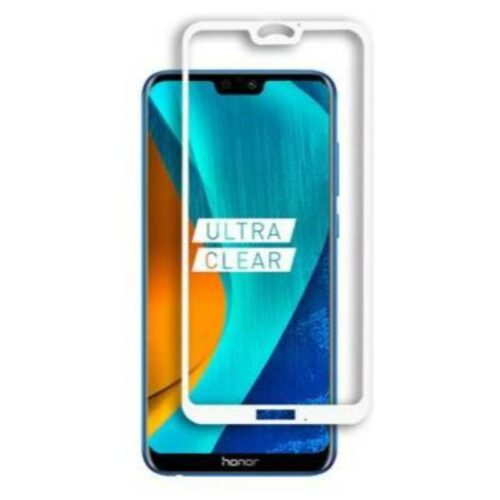 Honor 9N Tempered Glass Screen Protector 6D/11D Full Glue White 1