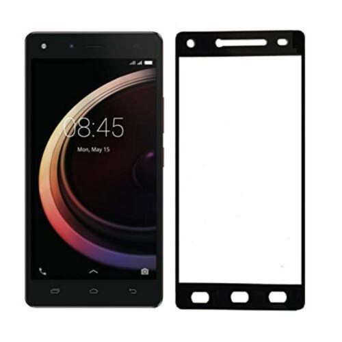 Infinix Hot 4 Pro Tempered Glass Screen Protector 6D/11D Full Glue Black 1