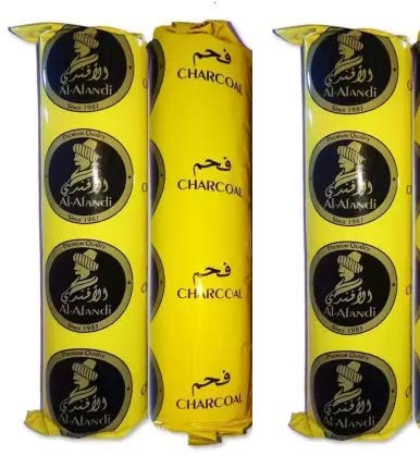 Quick Light Magic Charcoal for Hookah Sheesha 3 Rolls (30 Disks)