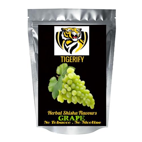 TIGERIFY High Quality Hookah Shisha Herbal GRAPE Flavour 25grams 1