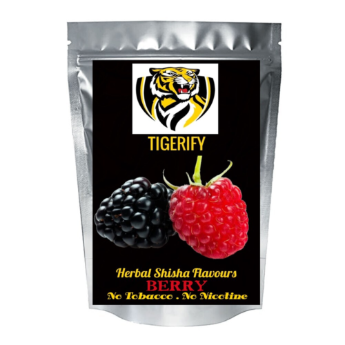 TIGERIFY High Quality Hookah Shisha Herbal BERRY Flavour 50grams 1
