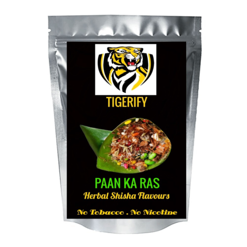 TIGERIFY High Quality Hookah Shisha Herbal PAAN KA RAS (PAN RASNA) Flavour 50grams 1