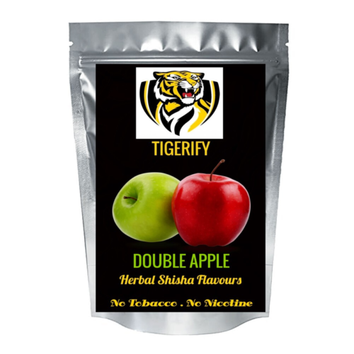TIGERIFY High Quality Hookah Shisha Herbal DOUBLE APPLE Flavour 25grams 1