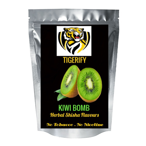 TIGERIFY High Quality Hookah Shisha Herbal KIWI BOMB Flavour 50grams 1