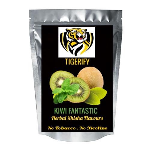 TIGERIFY High Quality Hookah Shisha Herbal KIWI FANTASTIC Flavour 25grams 1