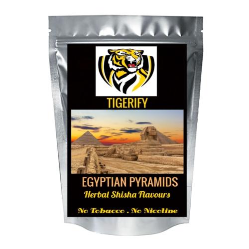 TIGERIFY High Quality Hookah Shisha Herbal EGYPTIAN PYRAMIDS Flavour 50grams 1