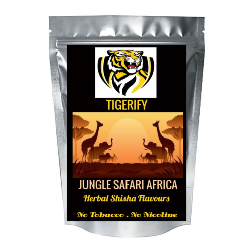 TIGERIFY High Quality Hookah Shisha Herbal JUNGLE SAFARI AFRICA Flavour 25grams 1
