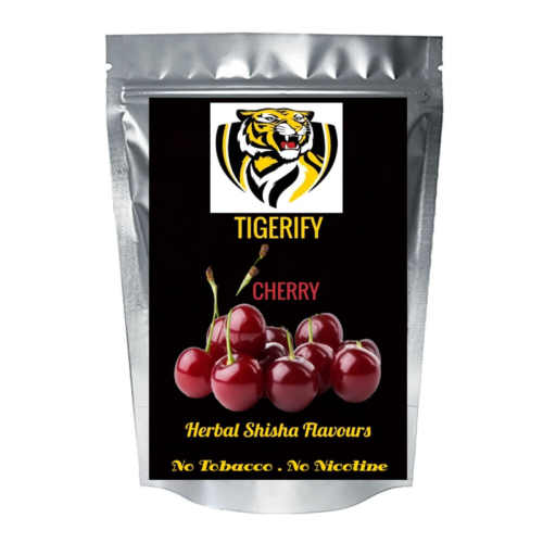 TIGERIFY High Quality Hookah Shisha Herbal CHERRY Flavor 25grams 1
