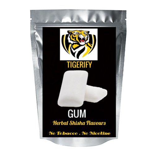 TIGERIFY High Quality Hookah Shisha Herbal GUM Flavour 50grams 1