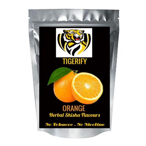 TIGERIFY High Quality Hookah Shisha Herbal ORANGE Flavour 50grams