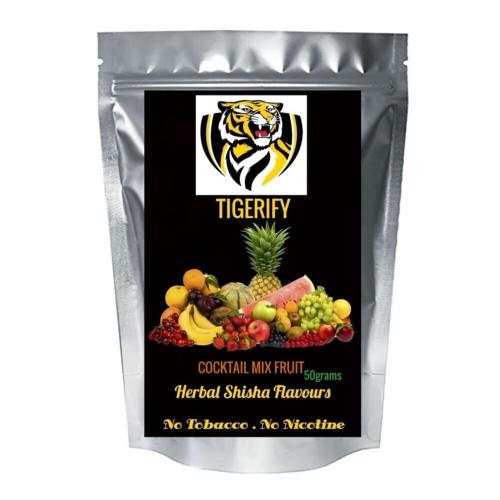 TIGERIFY Premium Quality Shisha Hookah Herbal COCKTAIL MIX FRUIT Flavour 50grams