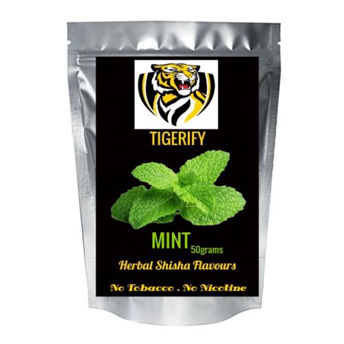 TIGERIFY Premium Quality Shisha Hookah Herbal MINT Flavour 50grams