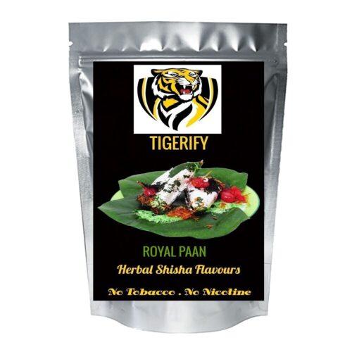 TIGERIFY Premium Quality Shisha Hookah Herbal ROYAL PAAN Flavour 50grams
