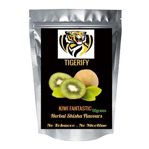 TIGERIFY Premium Quality Shisha Hookah Herbal KIWI FANTASTIC Flavour 50grams