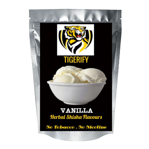 TIGERIFY Shisha Hookah Herbal VANILLA Flavour 25grams 1