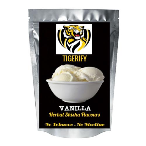 TIGERIFY Shisha Hookah Herbal VANILLA Flavour 50grams 1