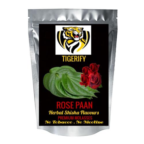 TIGERIFY Shisha Hookah Herbal ROSE PAAN Flavour 50grams 1