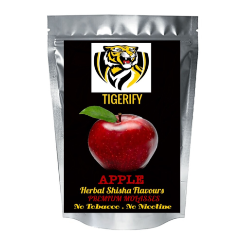 TIGERIFY Shisha Hookah Herbal APPLE Flavour 50grams 1