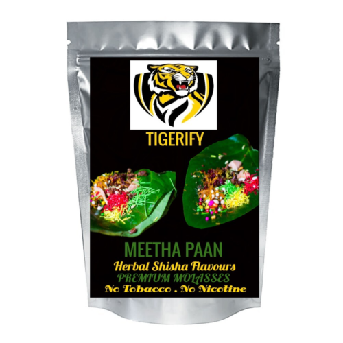 TIGERIFY Shisha Hookah Herbal MEETHA PAAN Flavour 25grams 1