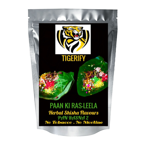TIGERIFY Shisha Hookah Herbal PAAN KI RAS-LEELA Flavour 50grams 1