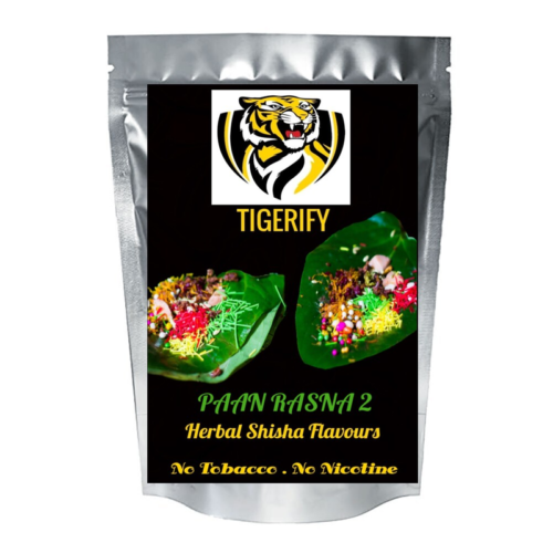 TIGERIFY Shisha Hookah Herbal PAAN RASNA 2 Flavour 25grams 1