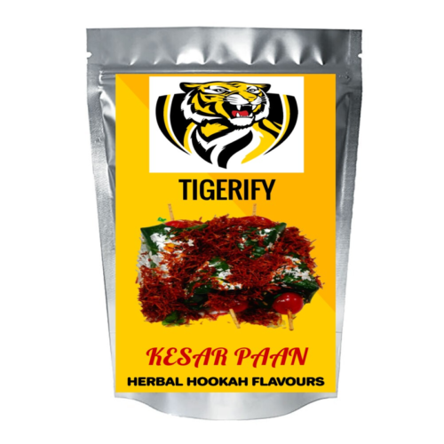 TIGERIFY Shisha Hookah Herbal KESAR PAAN Flavour 25grams 1