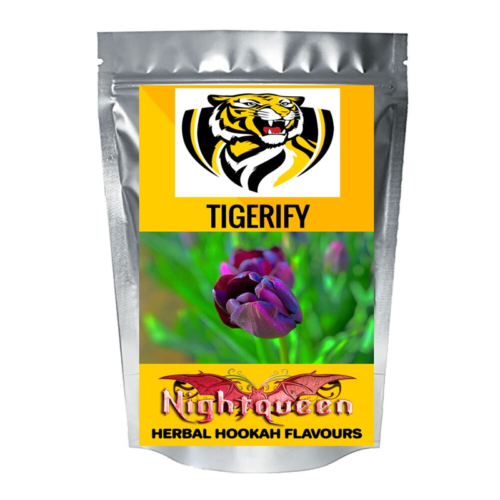 TIGERIFY Hookah Sheesha Herbal NIGHT QUEEN Flavour 50grams 1