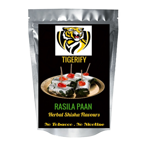 TIGERIFY Shisha Hookah Herbal RASILA PAAN Flavour 25grams 1