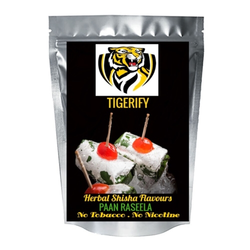 TIGERIFY Shisha Hookah Herbal PAAN RASEELA Flavour 25grams 1