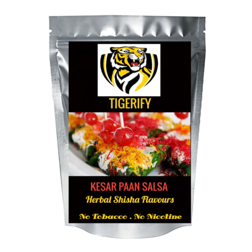 TIGERIFY Shisha Hookah Herbal KESAR PAAN SALSA Flavour 25grams 1
