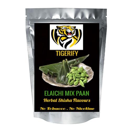 TIGERIFY Shisha Hookah Herbal ELAICHI PAAN Flavour 50grams 1