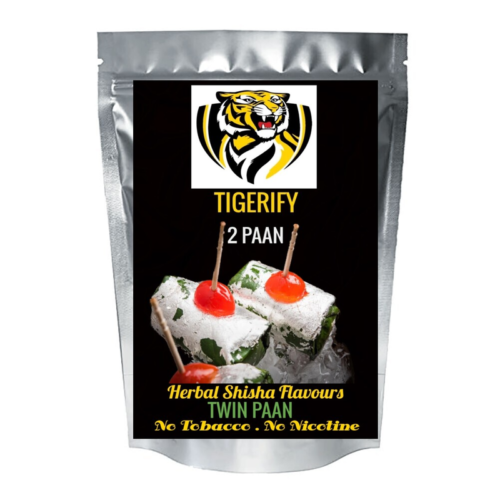 TIGERIFY Shisha Hookah Herbal TWO PAAN (TWIN PAAN) Flavour 25grams 1
