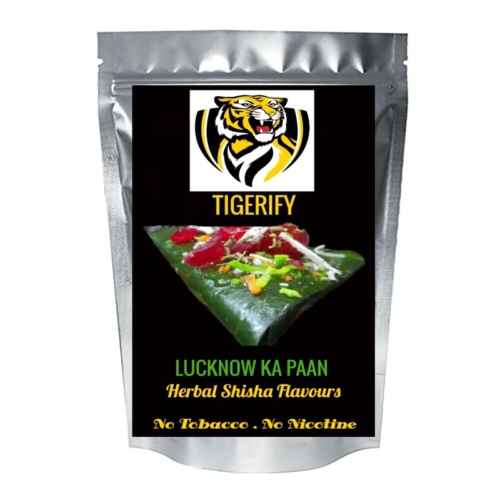 TIGERIFY Shisha Hookah Herbal LUCKNOW KA PAAN Flavour 25grams 1