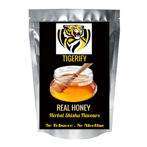 TIGERIFY Shisha Hookah Herbal REAL HONEY Flavour 25grams 1