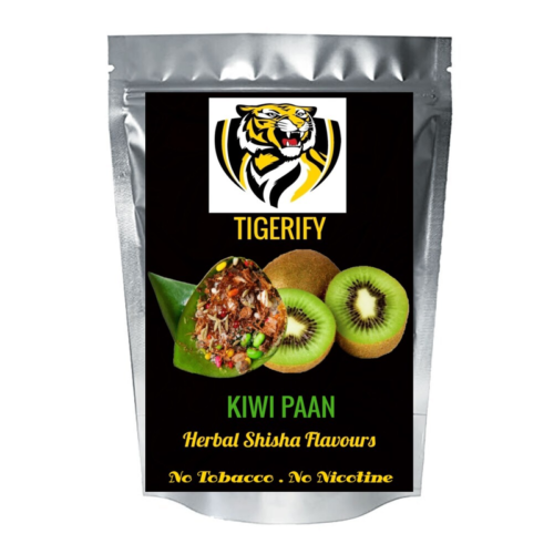 TIGERIFY Shisha Hookah Herbal KIWI PAAN Flavour 25grams 1