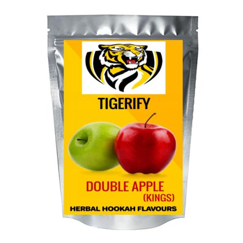 TIGERIFY Hookah Sheesha Herbal DOUBLE APPLE KINGS Flavour 25grams 1