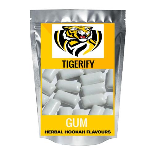TIGERIFY Hookah Sheesha Herbal GUM Flavour 25grams 1