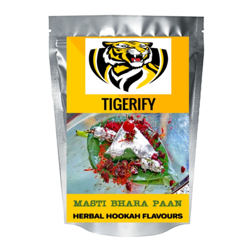 TIGERIFY Hookah Sheesha Herbal MASTI BHARA PAAN Flavour 25grams 1