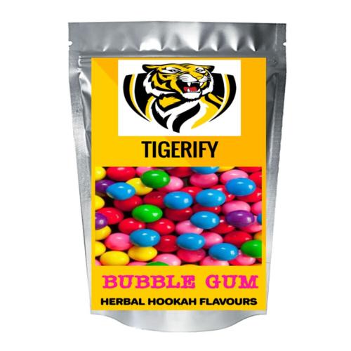 TIGERIFY Hookah Sheesha Herbal BUBBLE GUM Flavour 50grams 1